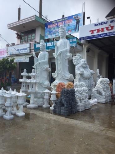 Very large statue village